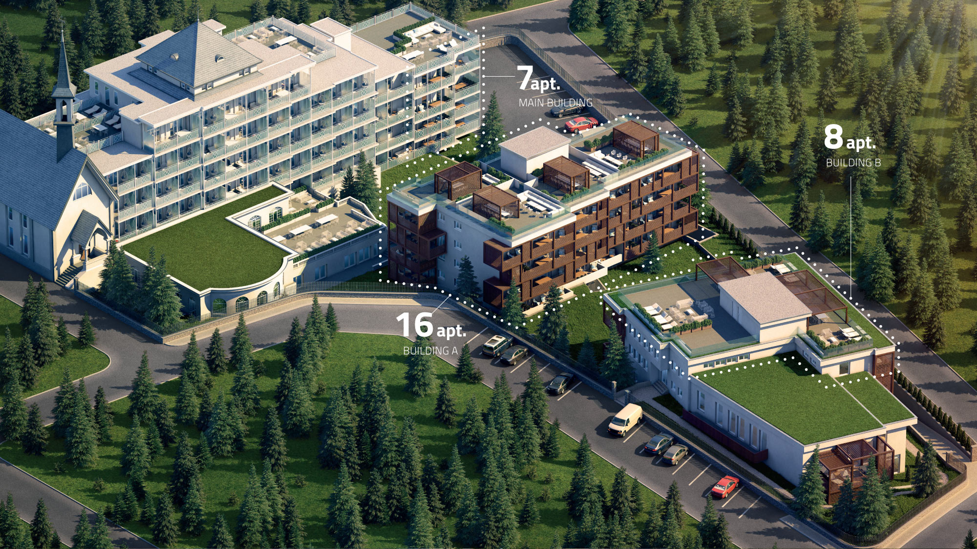 Residences at the Hard Rock Hotel Davos Apartment 002-4
