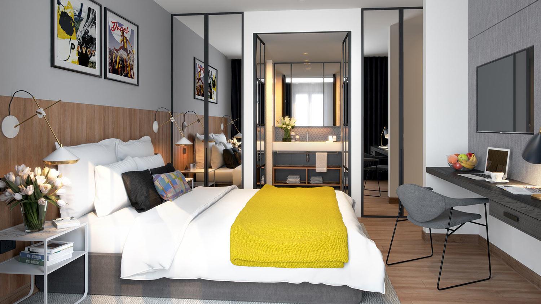 Holsboer Apartment bedroom_site_photo