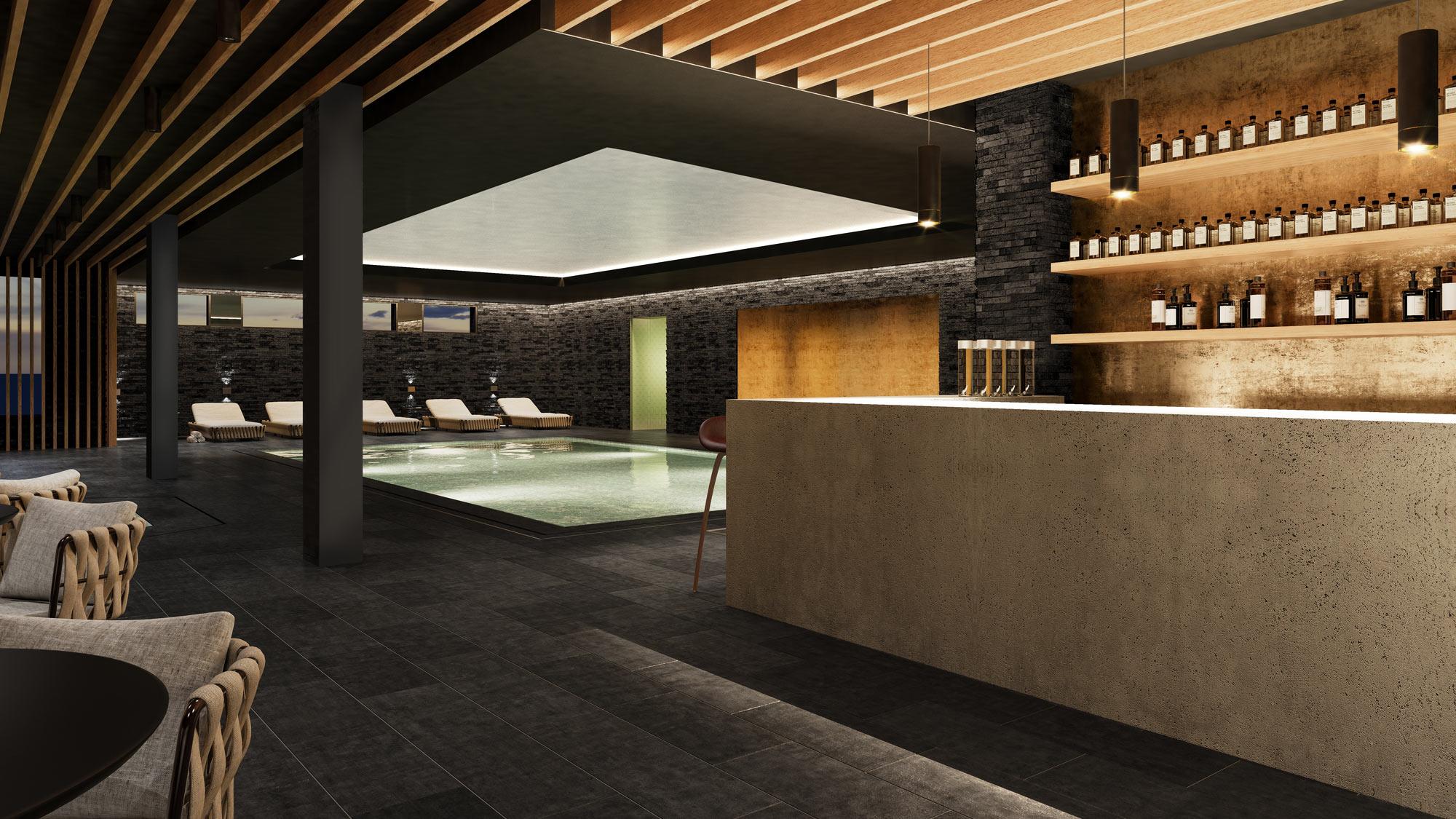 Residences at the Hard Rock Hotel Davos Apartment hard_rock_spa_1