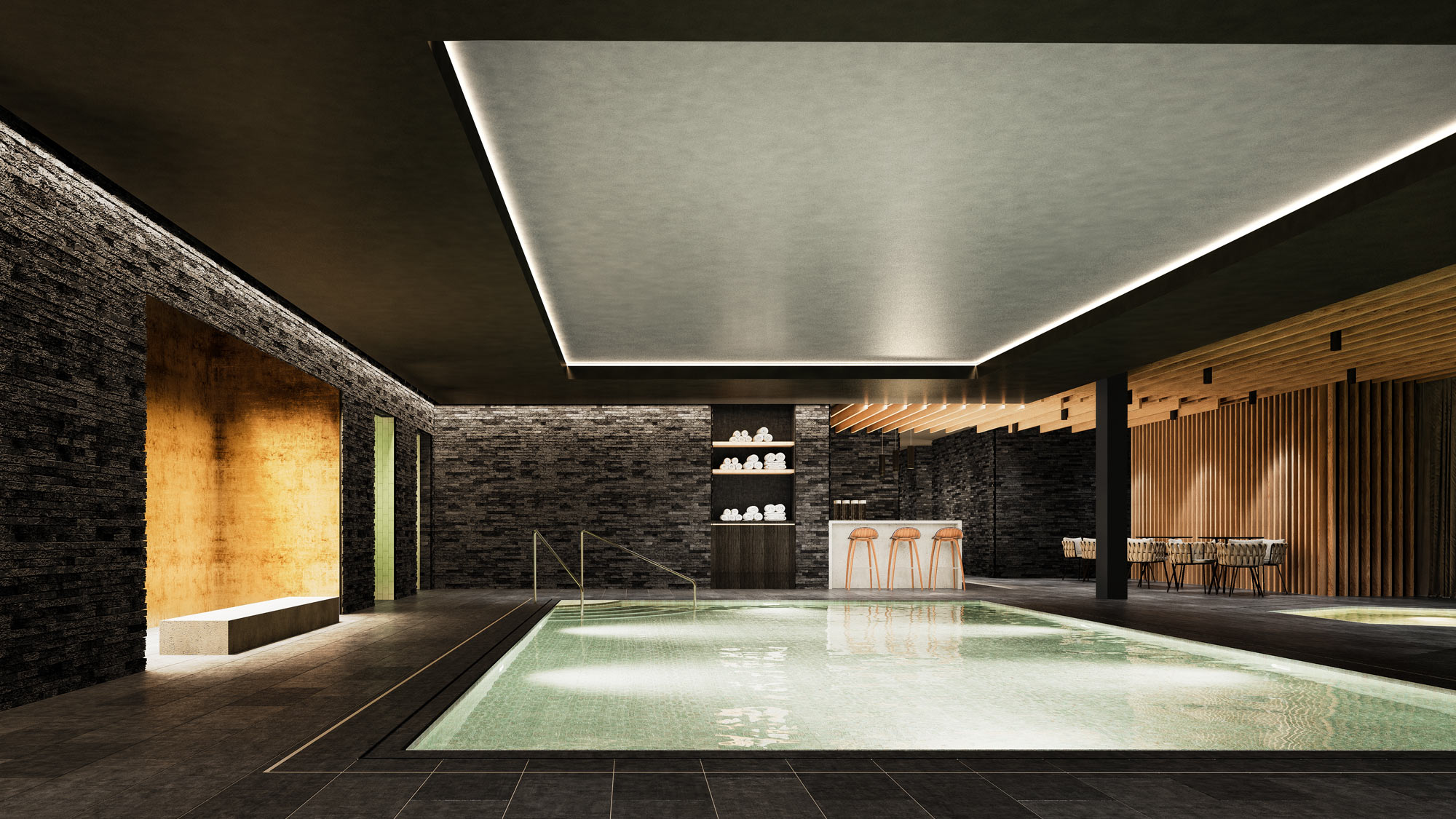 Residences at the Hard Rock Hotel Davos Apartment hard_rock_spa_2