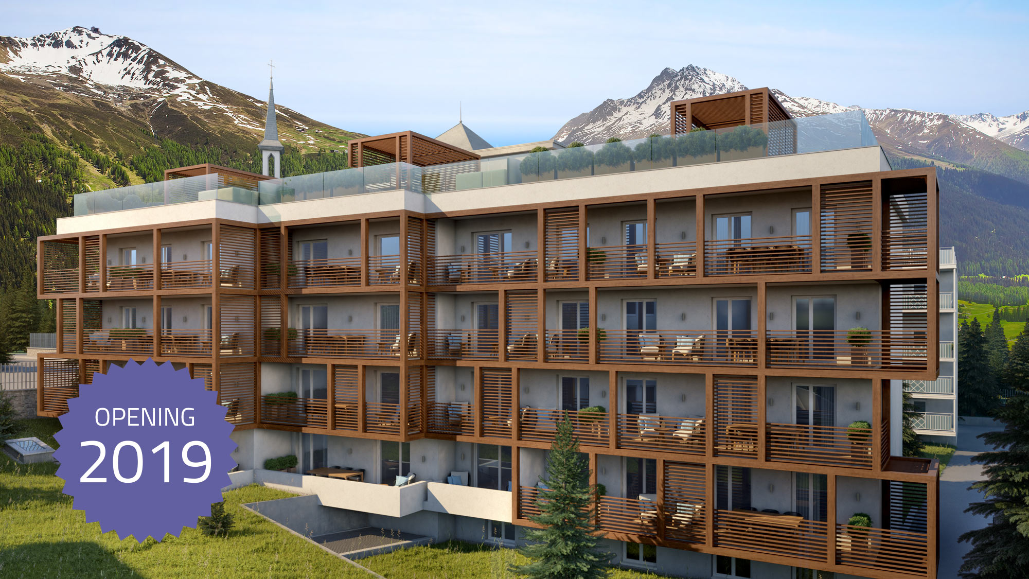 Residences at the Hard Rock Hotel Davos Apartment str_2_en_hr
