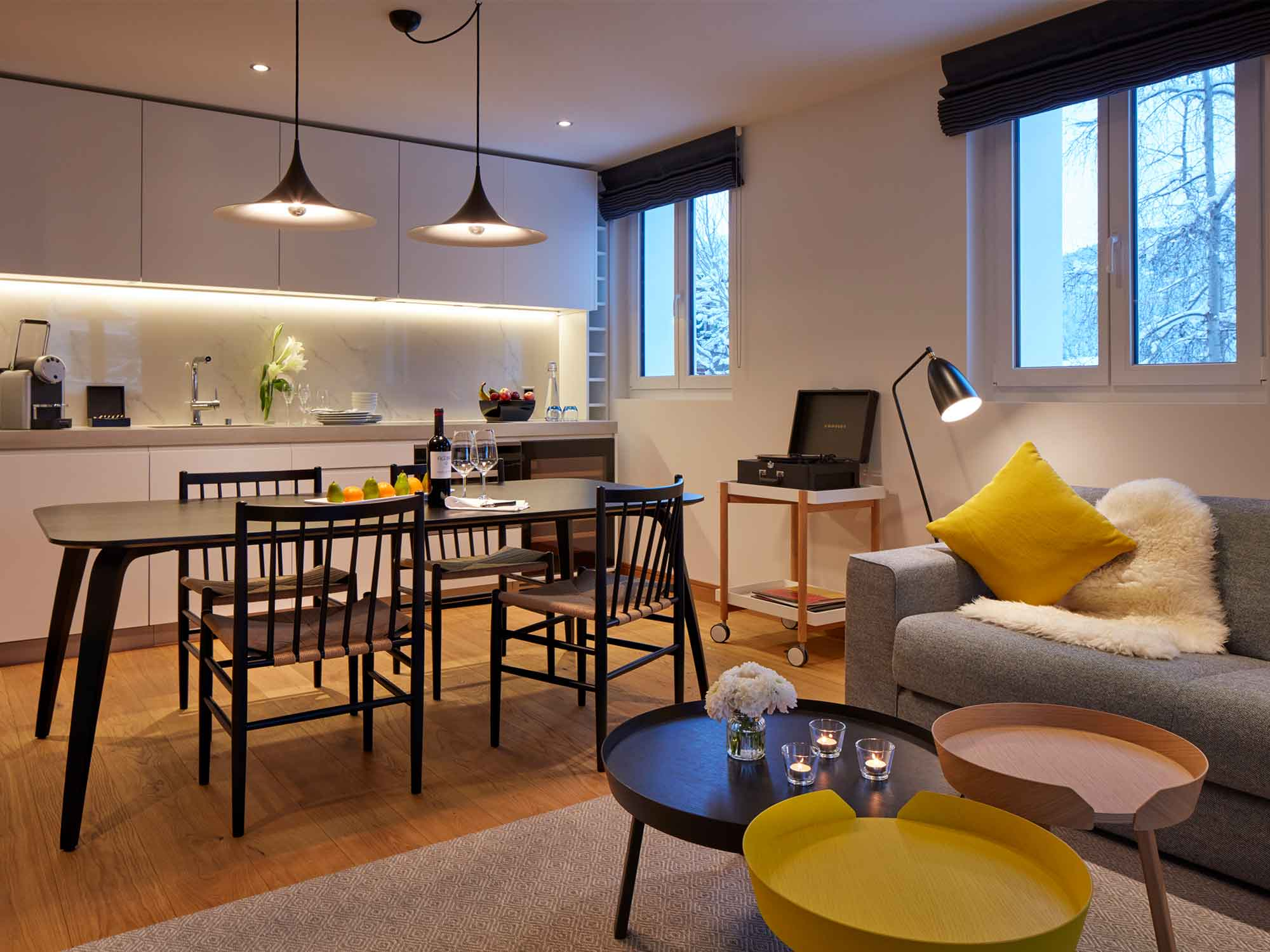 Residences at the Hard Rock Hotel Davos Apartment 5-HRHdavos_14-2